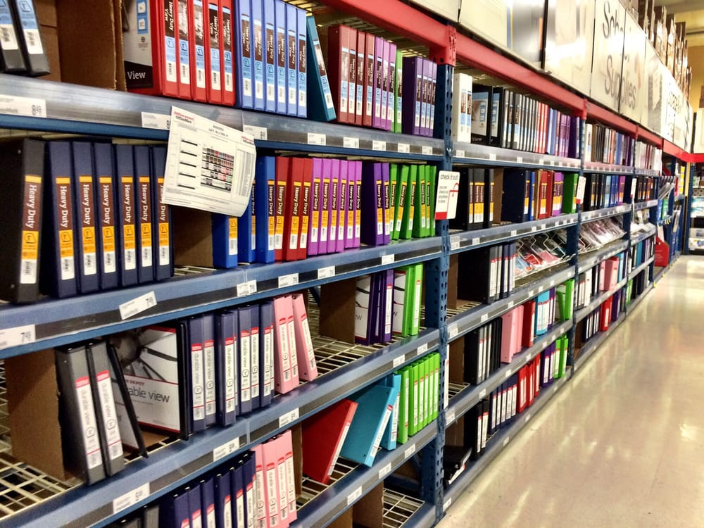 Photo Of Office Depot Roseville Ca United States Binders