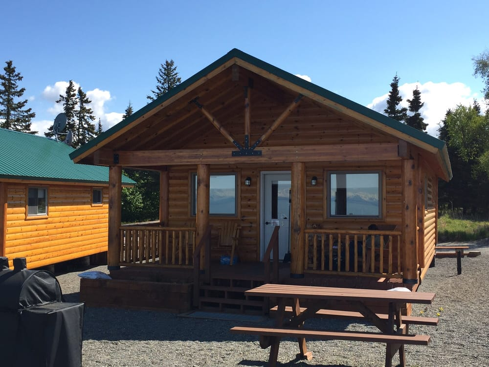 Cabins on the Bluff: 14823 Homestead Dr, Clam Gulch, AK