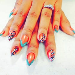 Finger and toe nails 14 photos nail salons 5845 for 777 nail salon fayetteville nc