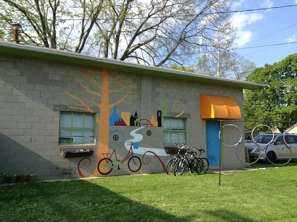 Bicycle Station: 1201 Washington St, Columbus, IN