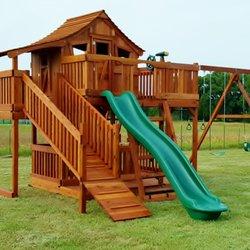 Photo Of Backyard Fun Factory   Justin, TX, United States. Fort Stockton  Swing