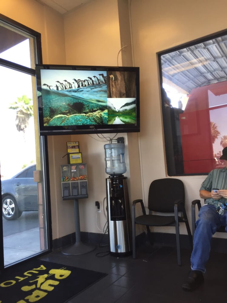 Purrfect Auto Service >> They play entertaining movies while you wait. - Yelp