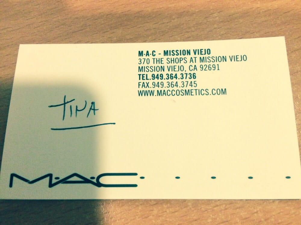 Tina\'s business card. Tina is very helpful. - Yelp