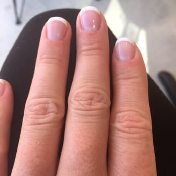 Gel french manicure vancouver