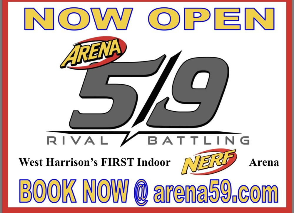 Arena 5/9: 221 S State St, West Harrison, IN
