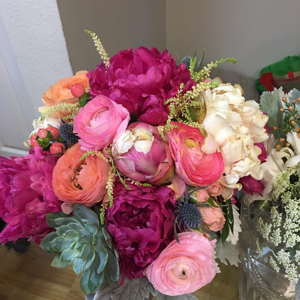 A Colorful Combination Of Stunning Flowers Bouquet Yelp