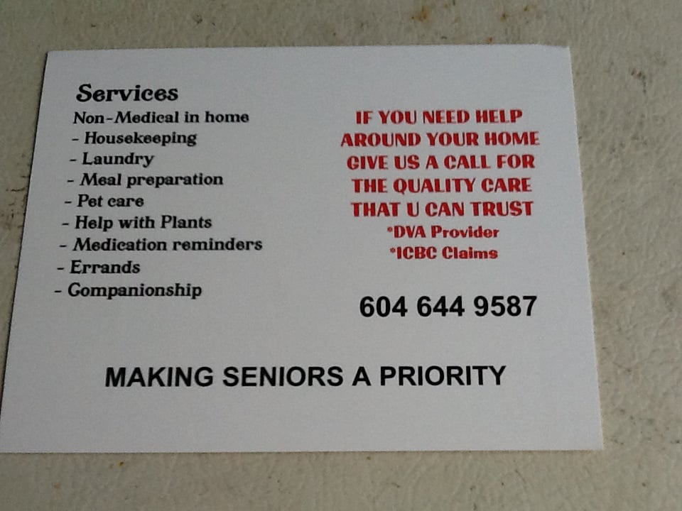 Seniors first care services home cleaning 707 13th street new seniors first care services home cleaning 707 13th street new westminster bc phone number yelp colourmoves