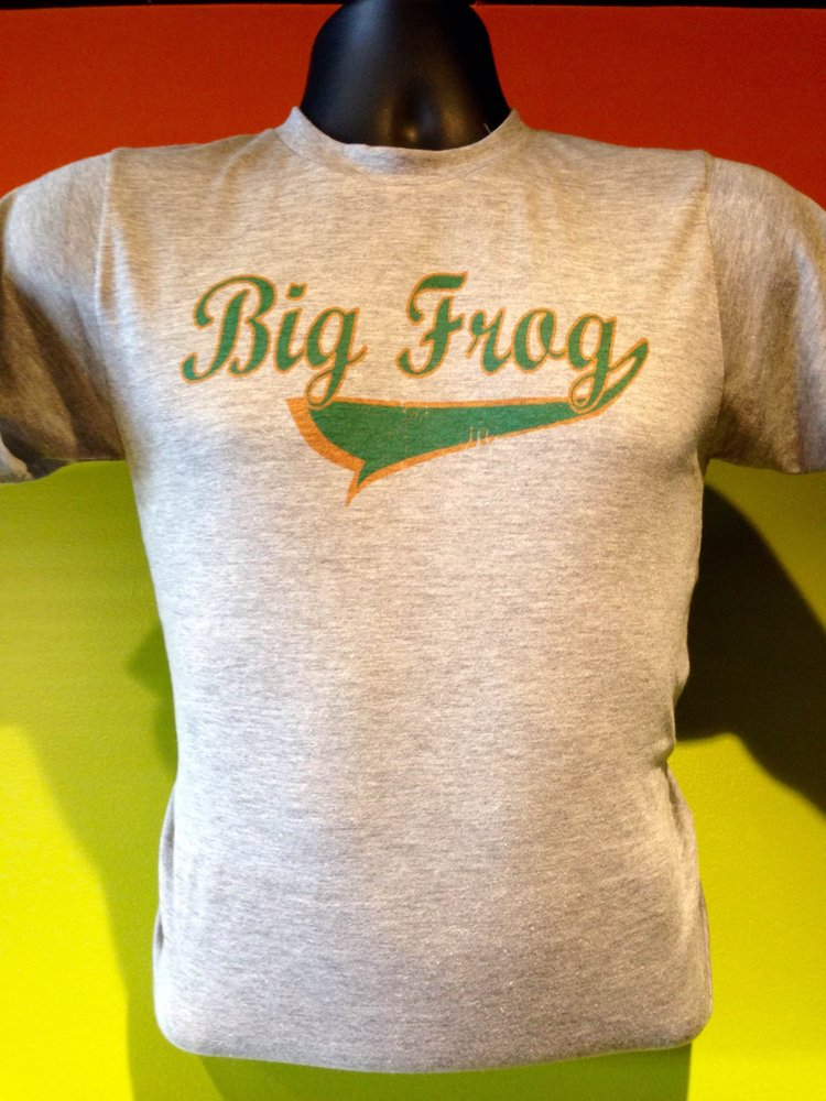 Photos for big frog custom t shirts more east cobb yelp for Big frog custom t shirts