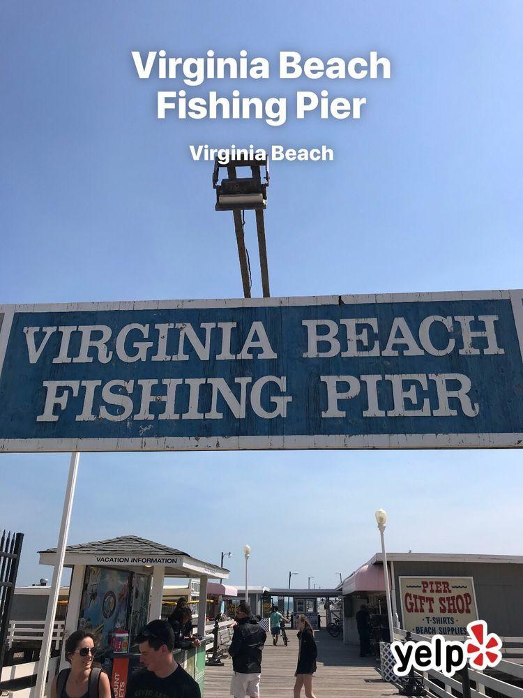 Virginia beach fishing pier 44 photos 18 reviews for Va beach fishing
