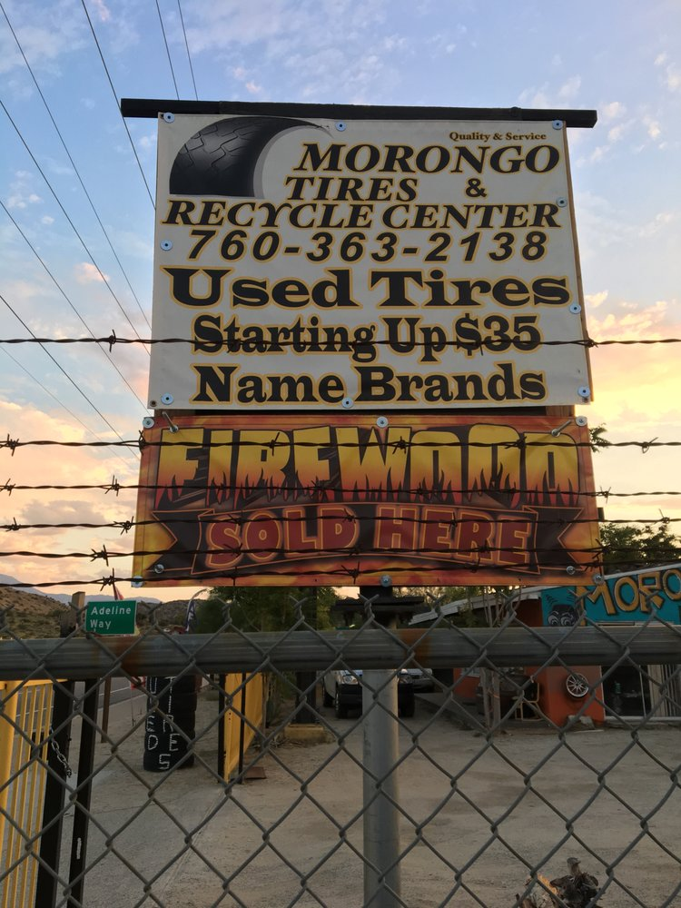 Morongo Tires: 49578 Twentynine Palms Hwy, Morongo Valley, CA