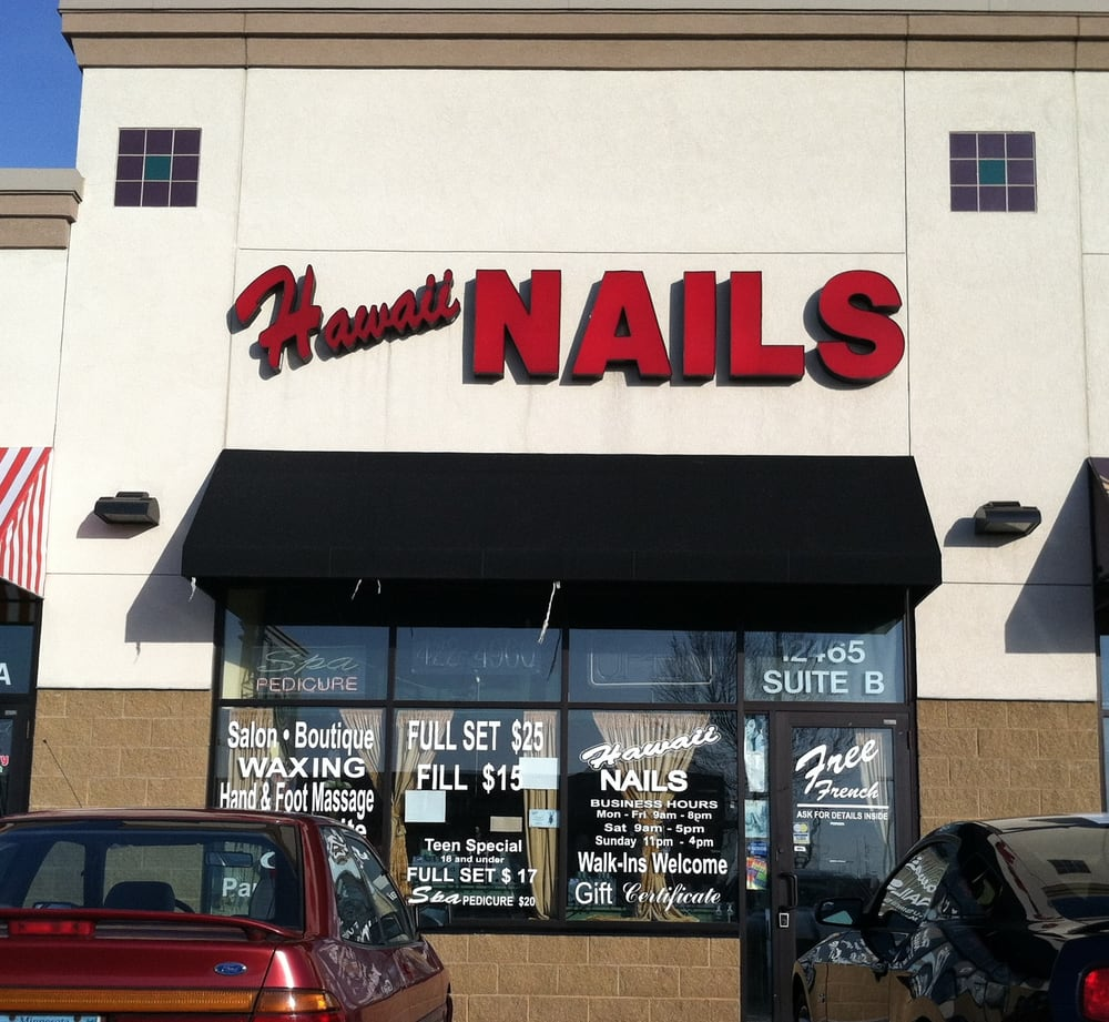 Hawaii Nail Nail Salons 12465 Riverdale Blvd Nw Coon Rapids Mn Phone Number Services
