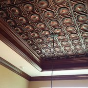 decorative ceiling tiles. Tray Ceiling Decor Photo Of Decorative Tiles - Margate, FL, United States. Ceiling.
