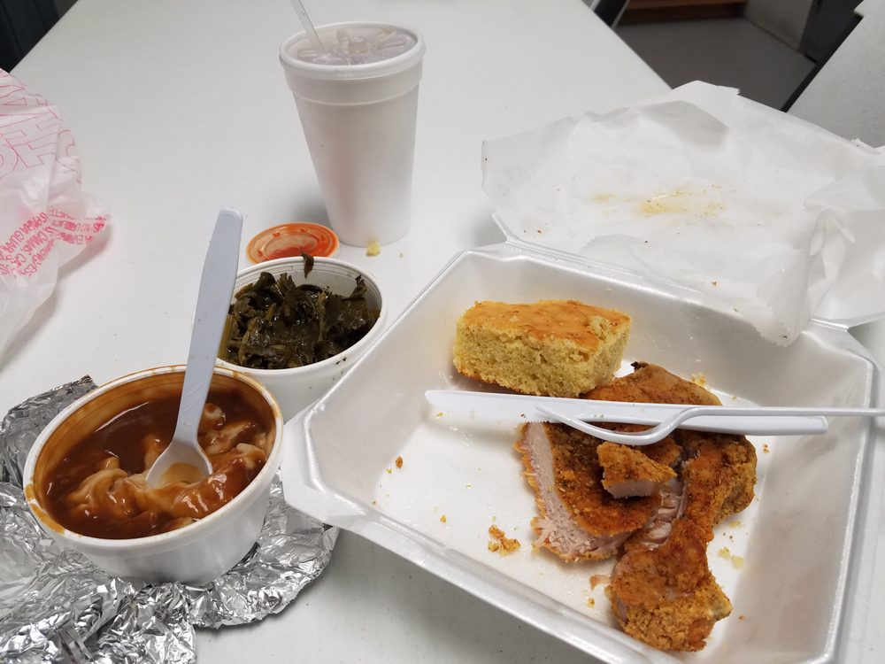 Food from Bro Pete's