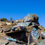 how to get to sunken city san pedro