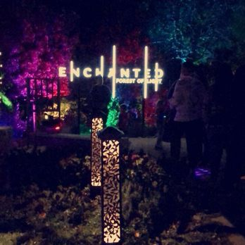 Enchanted Forest Of Light At Descanso Gardens Temp Closed 1180 Photos 154 Reviews