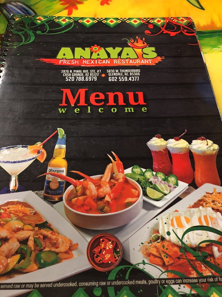 Anayas Fresh Mexican Restaurant 63 Photos 67 Reviews 2876 N Pinal Ave Casa Grande Az Phone Number Yelp