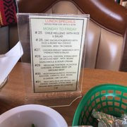 Breakfast Specials Photo Of Sion S Mexican Restaurant Manhattan Beach Ca United States Lunch