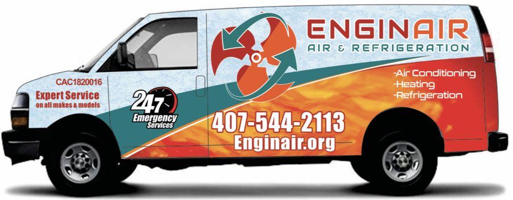 Enginair Air & Refrigeration: 15620 Arabian Way, Montverde, FL