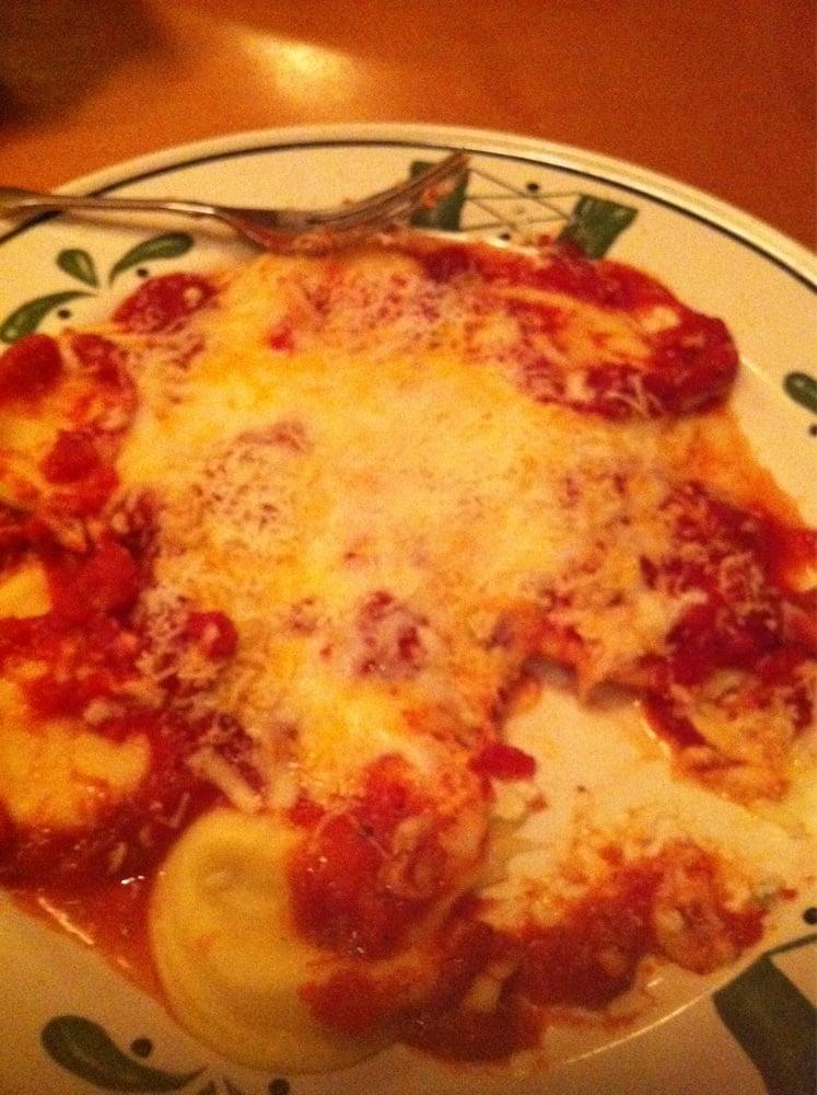 Cheese Ravioli W Marinara Sauce Yelp