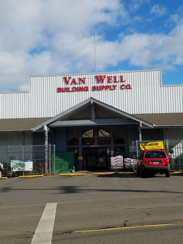 Van Well Building Supply: 1650 SE Uglow Ave, Dallas, OR