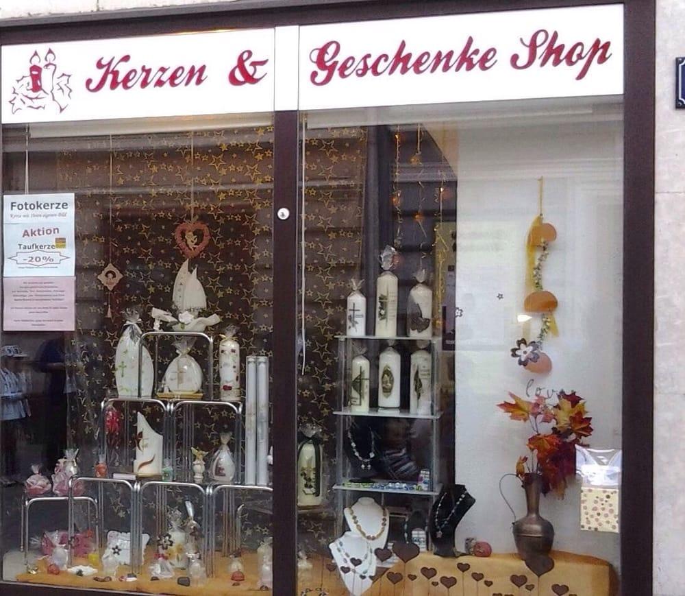 Kerzen geschenke shop geschenkartikel strau gasse 14 for Geschenkartikel shop