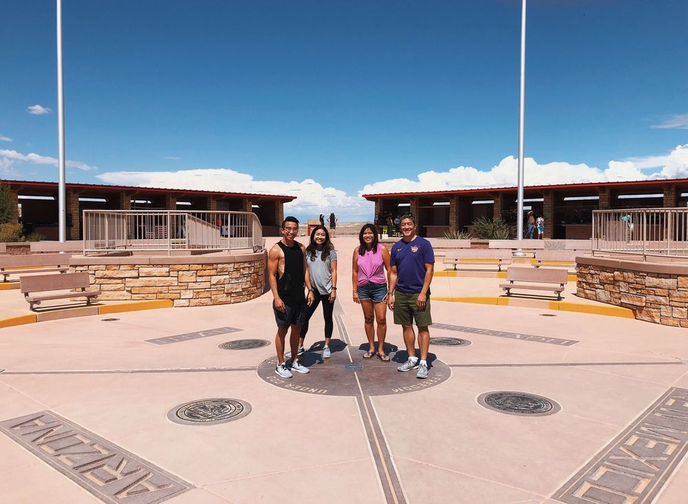 Four Corners Monument: 4 Corners Rd, Teec Nos Pos, NM