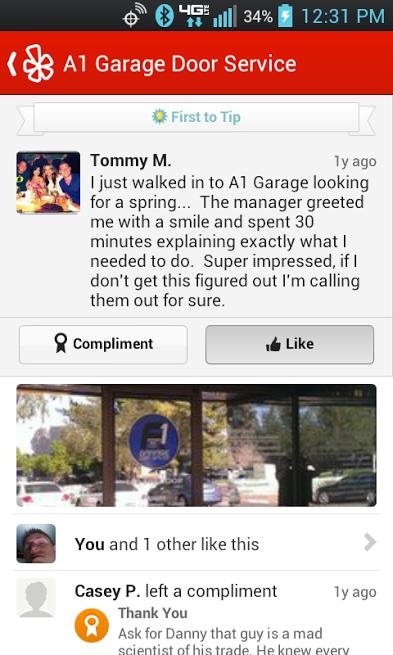 Thomas Mello Owner A1 Garage Door Service Http