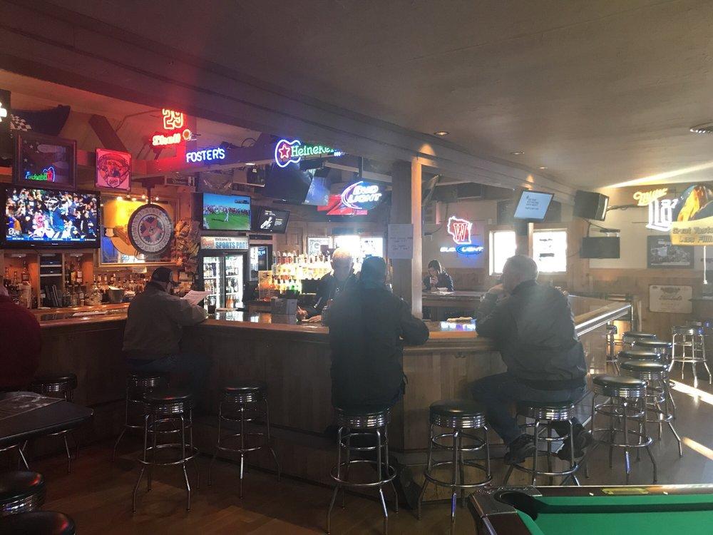 Sports Page Bar & Grill: 117 N Main St, North Prairie, WI