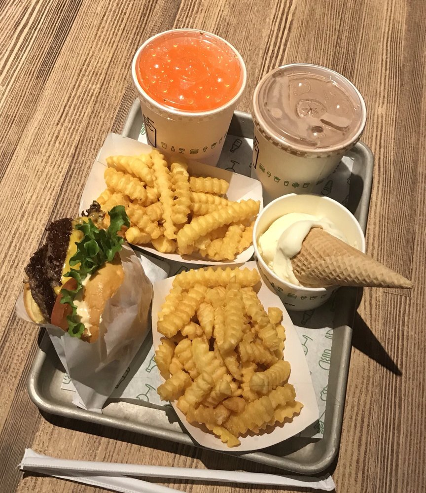 Food from Shake Shack