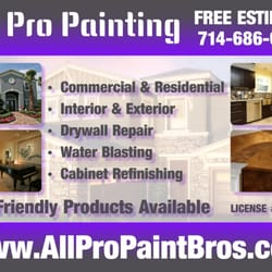 All Pro Painting CLOSED Photos Painters Willow Ln - All pro painting