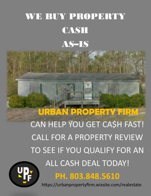Urban Property Firm 301 S Main St Ste 1C Sumter, SC Real