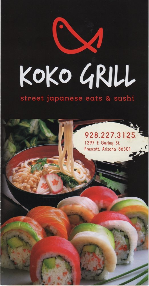 Food from KoKo Grill