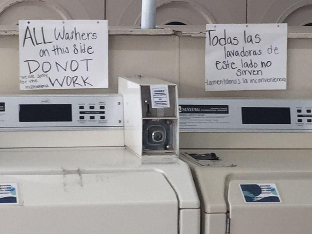General Laundry & Service: 406 E Broadway Ave, Moses Lake, WA