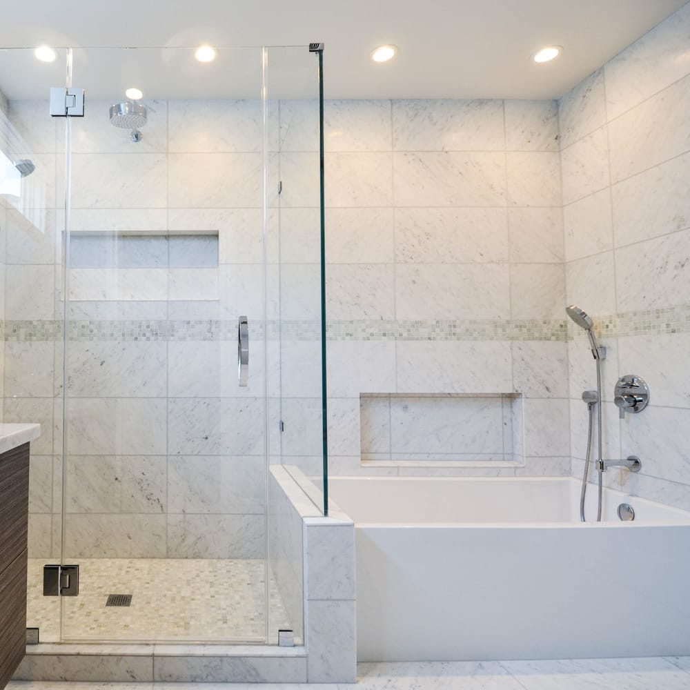 Full Master Bathroom Remodel Which Features A Separate Expansive - Bathroom renovation san francisco