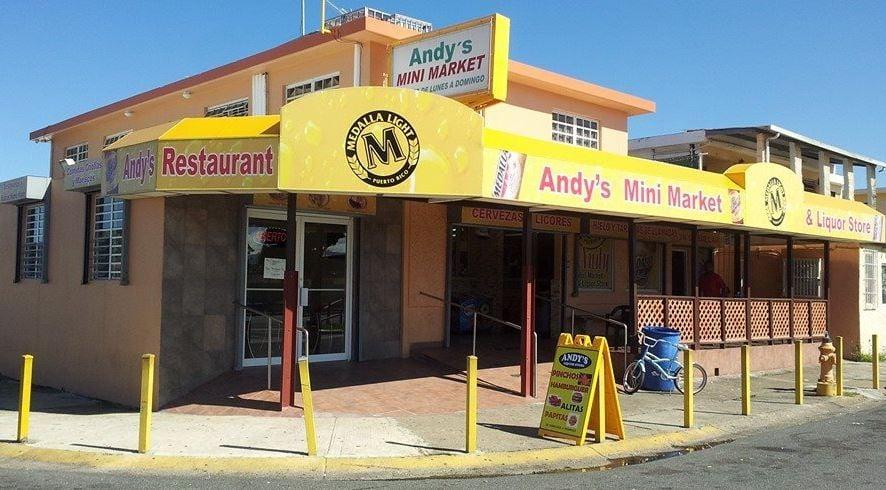 Andy's Liquor Store & Restaurant: Marginal Calle 601, Avenida Campo Rico, Carolina, PR