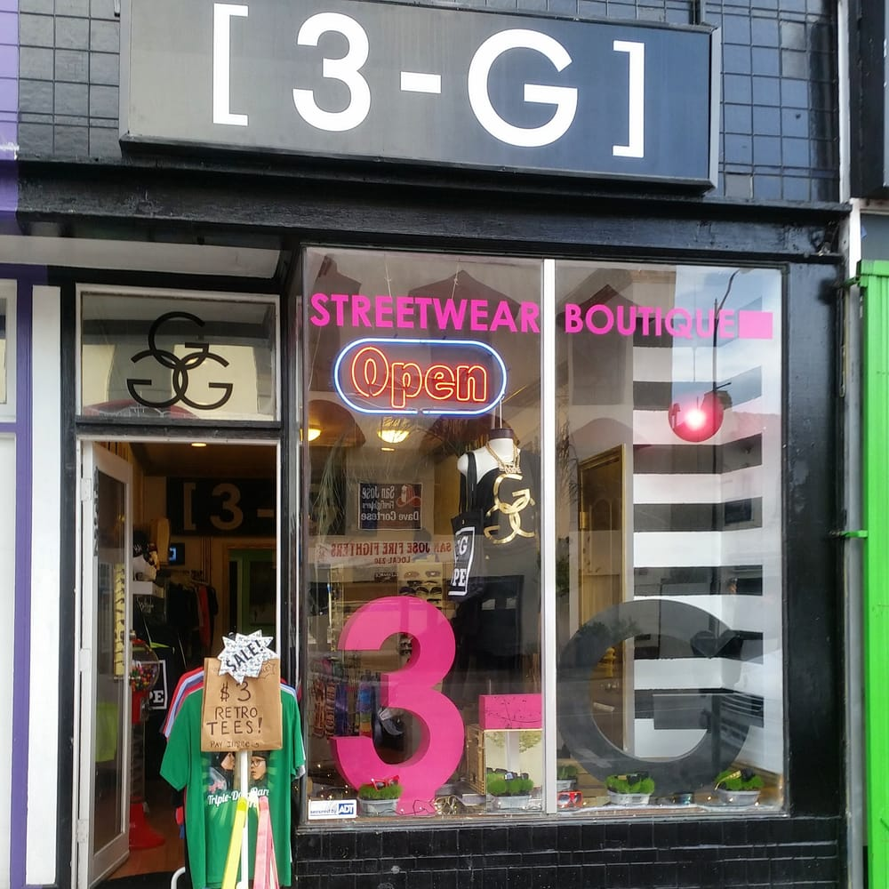 3-G Streetwear Boutique - CLOSED - Women's Clothing - 432 E