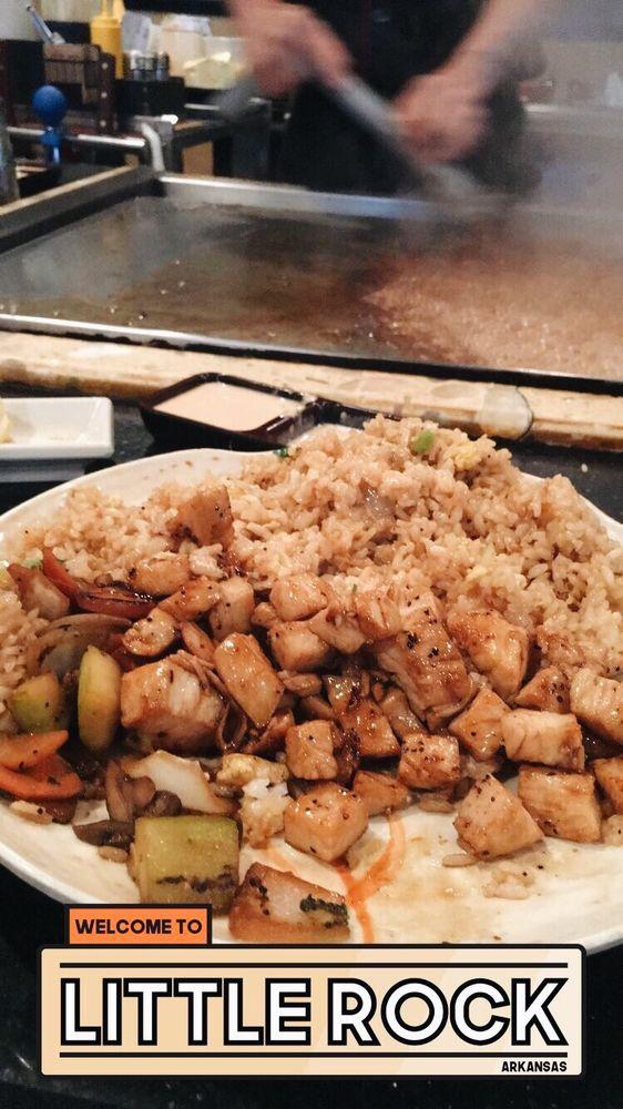 Samurai Japanese Steakhouse & Sushi Bar: 2604 S Shackleford Rd, Little Rock, AR