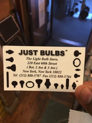 Awesome Just Bulbs The Light Bulb Store 222 East 58th Street New York, NY Lighting    MapQuest