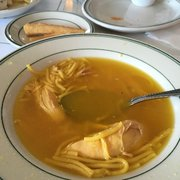 The Chicken Soup Is The Best Very Flavorful Broth Delicious