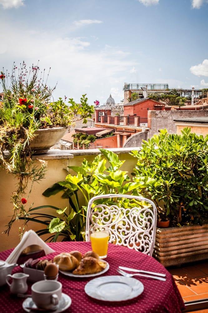 Terrazza panoramica sui tetti di Roma - Yelp