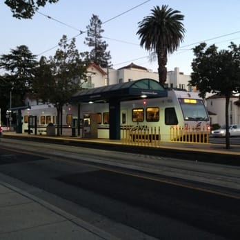 Photo Of VTA Light Rail 902 Japantown/Ayer Station   San Jose, CA,