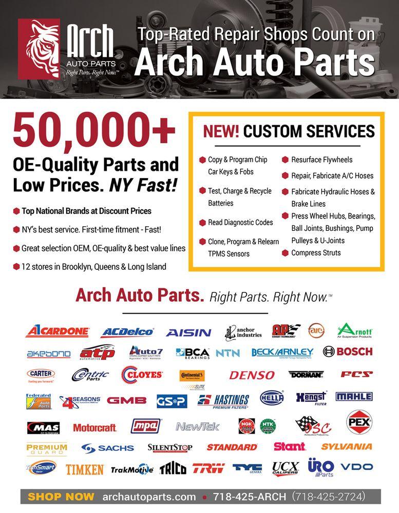 arch auto parts get quote 10 photos auto parts supplies 145 91 guy r brewer blvd. Black Bedroom Furniture Sets. Home Design Ideas