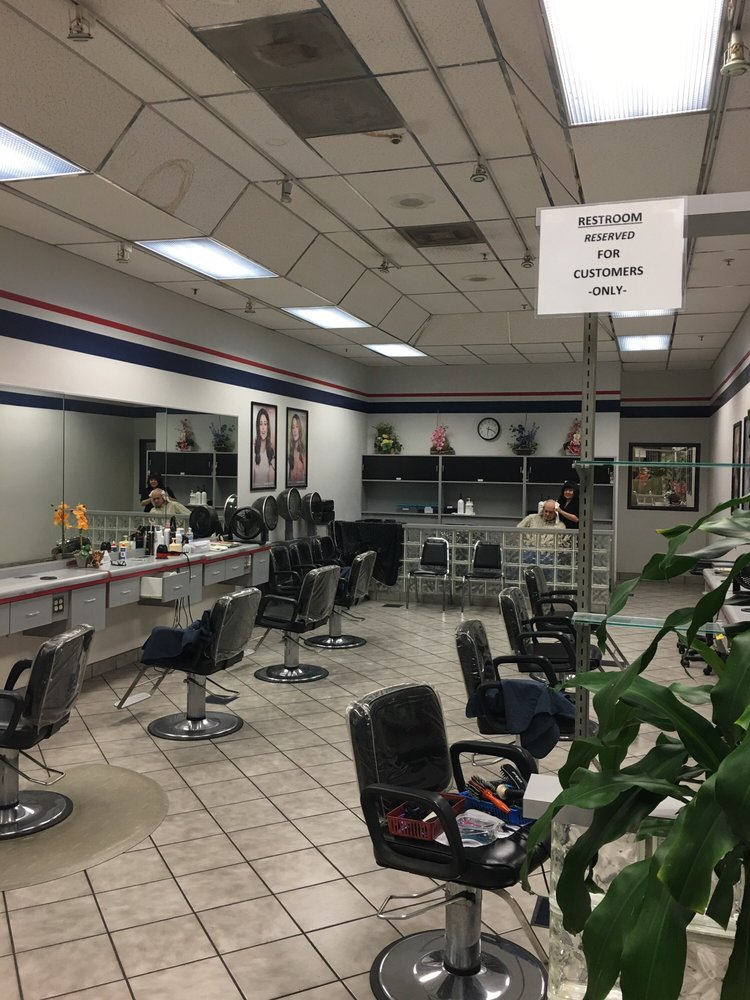 I 39 ve been coming here for close to 15 years service is for Sams salon