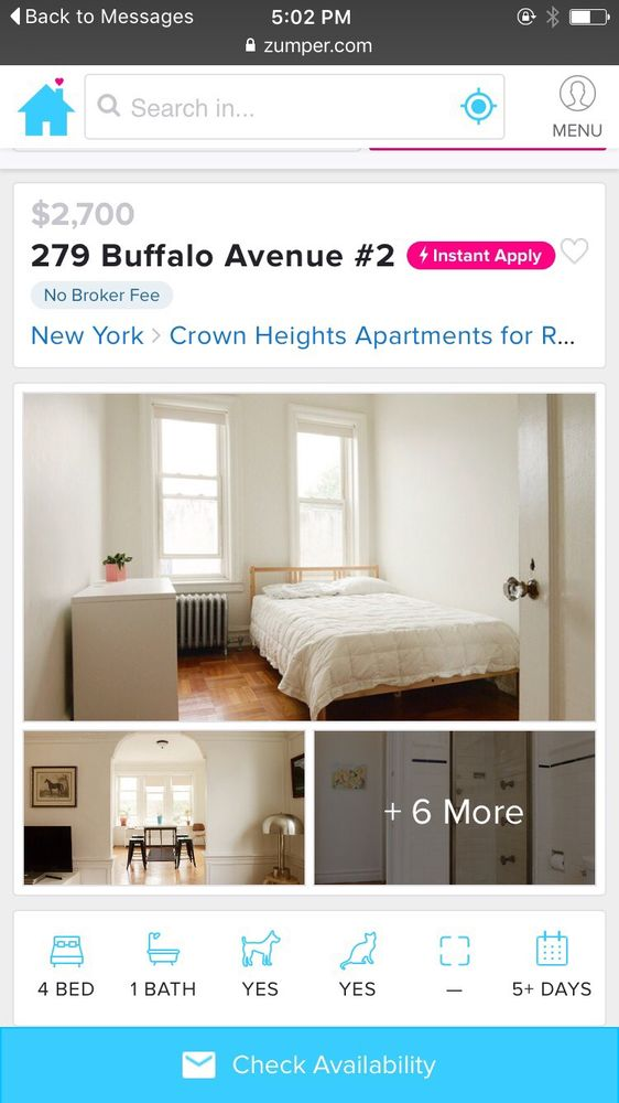 Urban Pads: 77 Rogers Ave, Brooklyn, NY