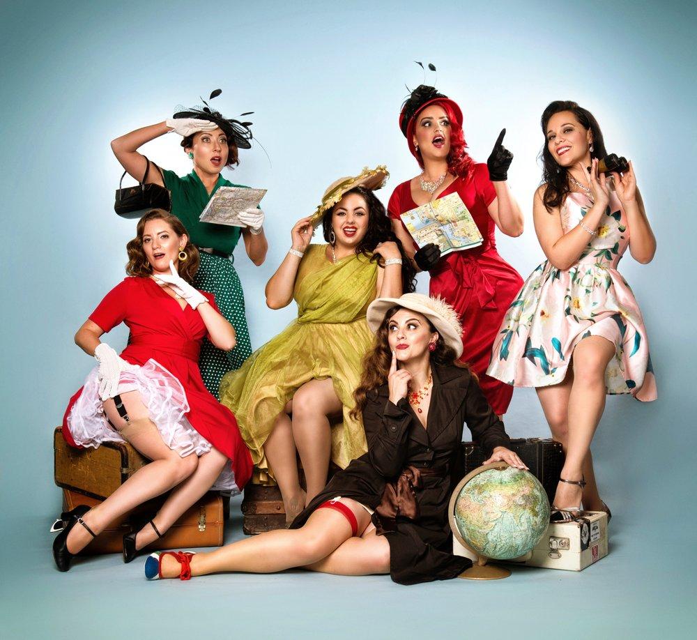 Drop Dead Dames Burlesque Revue: San Diego, CA