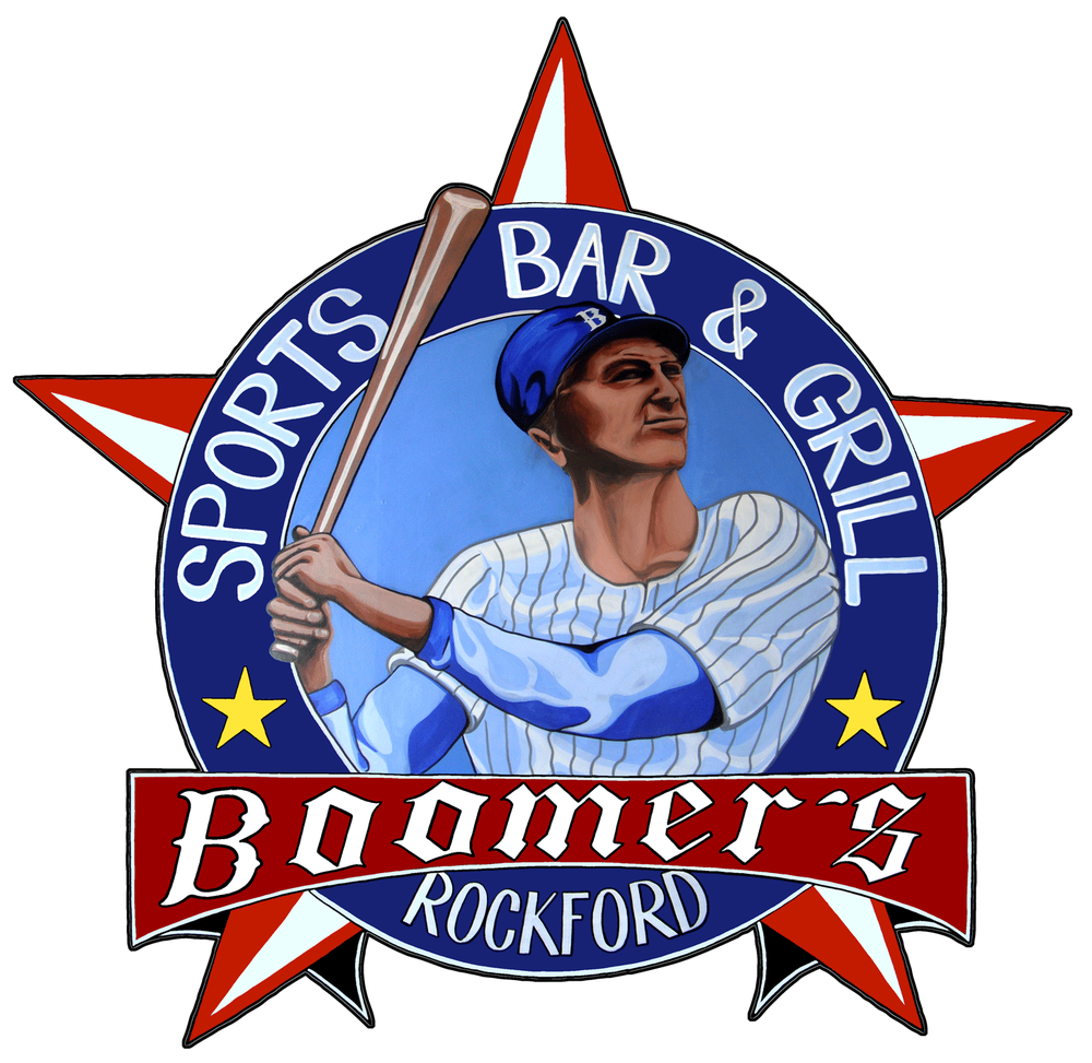 Boomers Sports Bar And Grill Logo