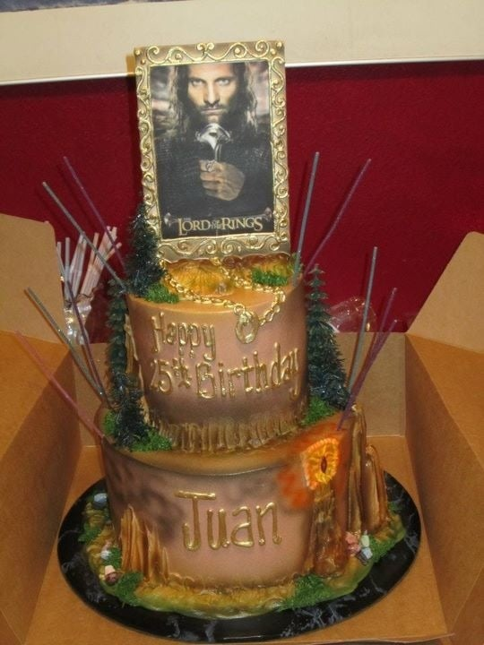 The Birthday Cake I Ordered Lord Of The Rings Yelp