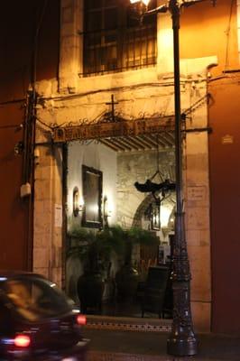 Photo Of Hotel Mesón Del Rosario Guanajuato Mexico La Entrada
