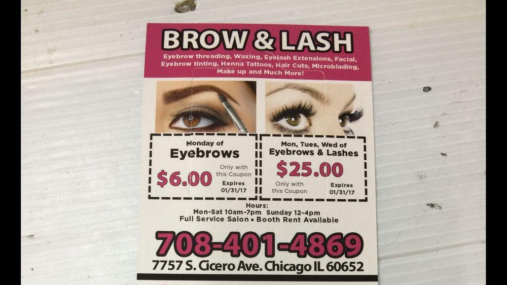 Brow Lash Salon 12 Photos Hair Removal 7757 S Cicero Ave