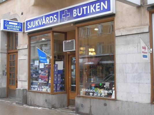 21c564ce2a2 Sjukvårdsbutiken Ählström - Shopping - Sankt Eriksgatan 53A ...
